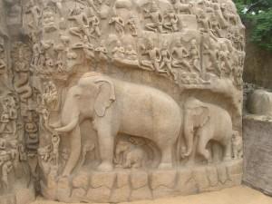 001 Mamalapuram Arjunas Pennance