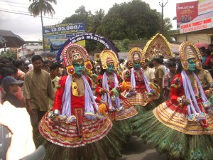 Onam Festival mit Umzug